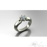 solitair met 0,60ct.