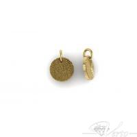 gouden vingerafdruk hanger